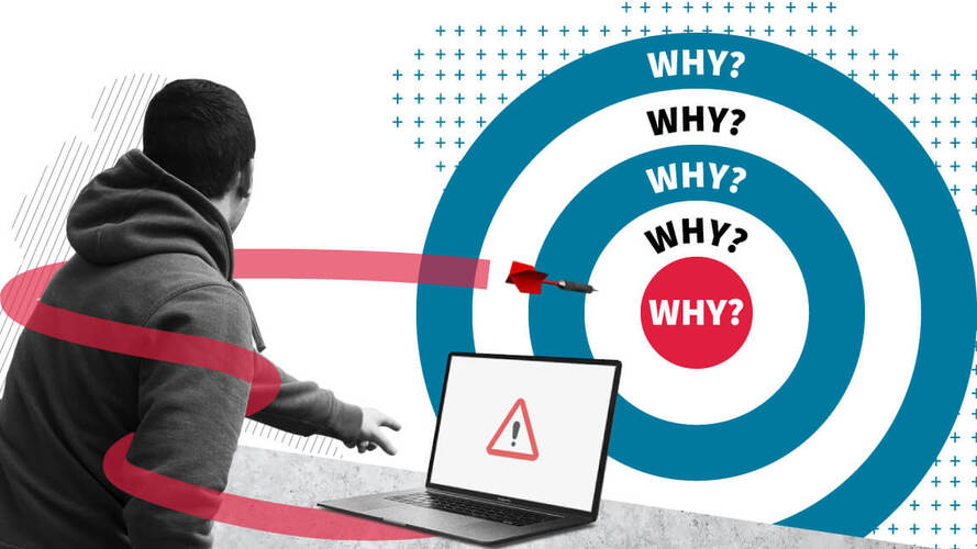 The 5 Whys technique – dig deep to find the root cause of any problem
